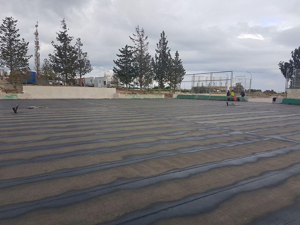 Parklane Tennis court 8
